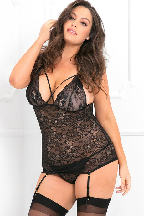 Queen of the Night Chemise & G-String