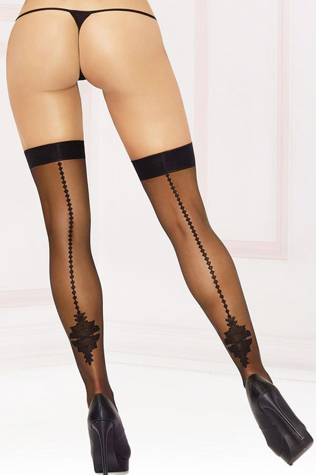 Rorschach Thigh Highs