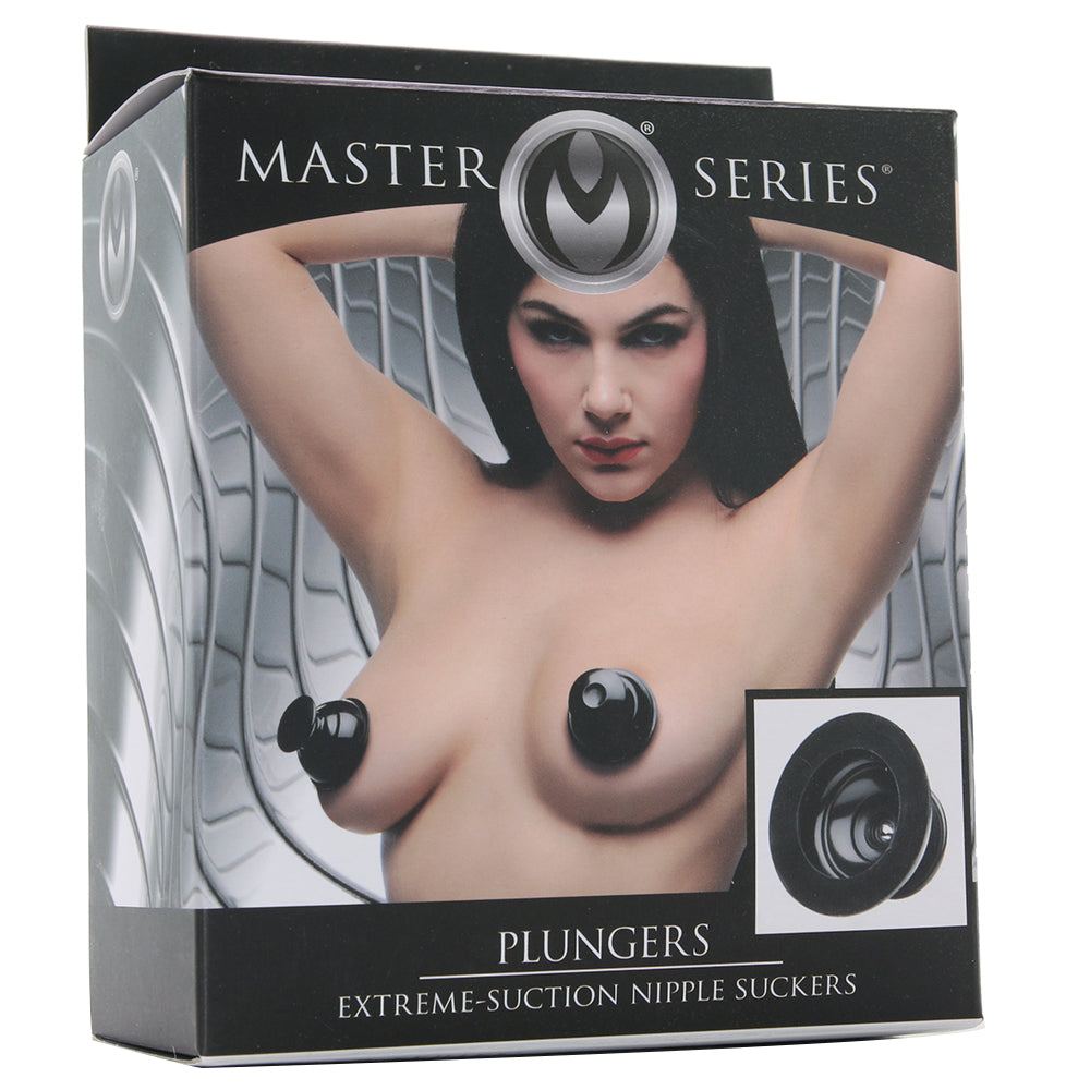 Master Series Plungers Extreme Nipple Suckers