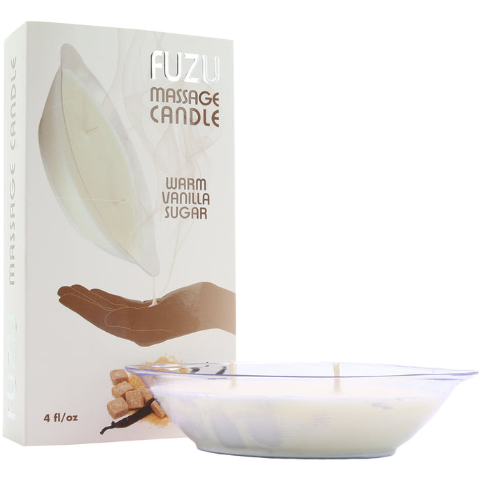 Fuzu Warm Vanilla Sugar Massage Candle
