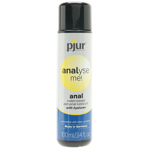 analyse me! Water Based Anal Lubricant