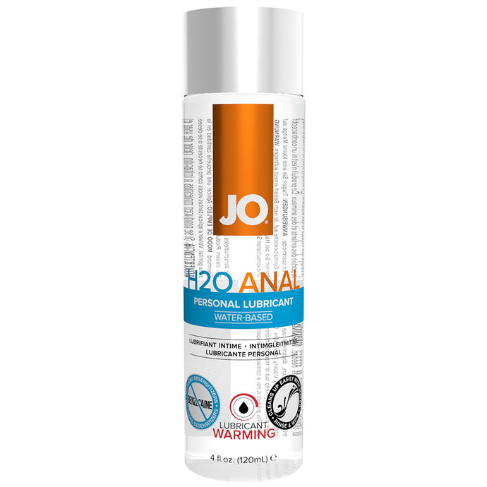 H2O Anal Warming Personal Lubricant