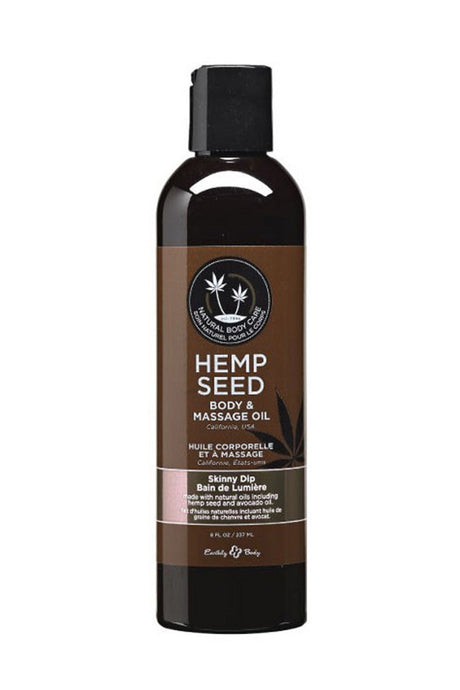Hemp Seed Massage Oil 2oz/60ml