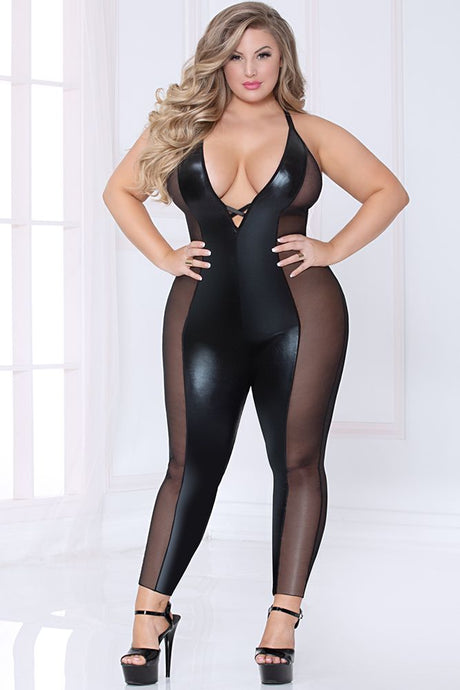 Lamé and Ignite Bodysuit