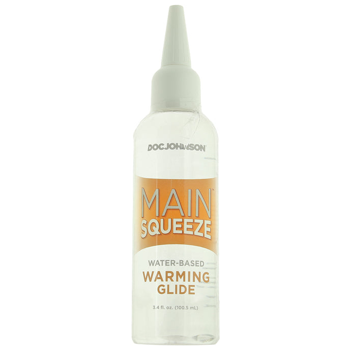 Main Squeeze Water-Based Warming Lubricant