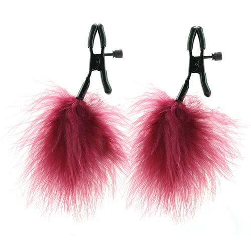 Enchanted Feathered Nipple Clamps