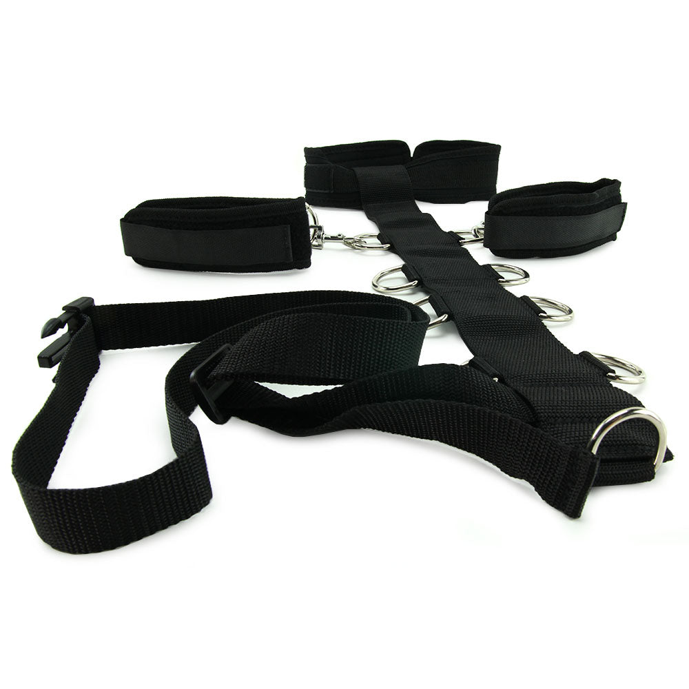 3 Piece Adjustable Neck & Wristraint Set