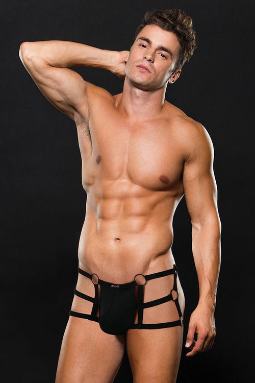 Bad Boy Strappy Open Back Black Trunk