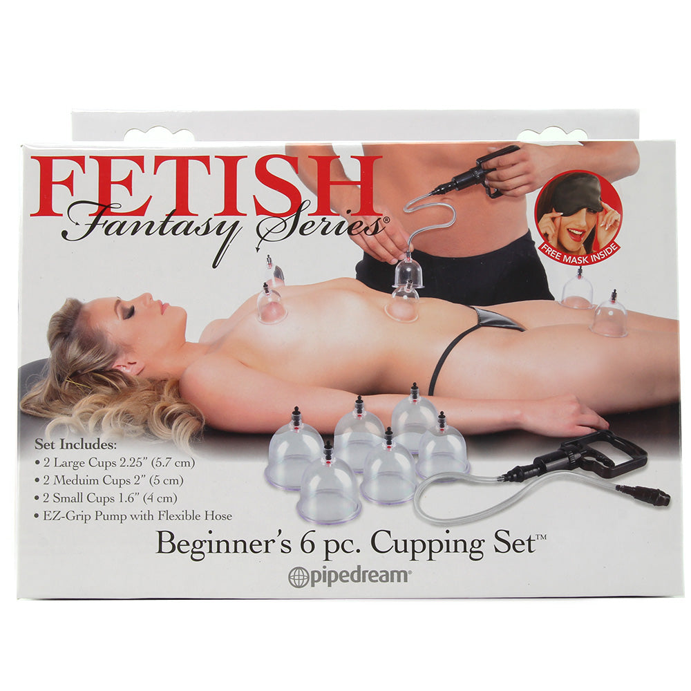 Fetish Fantasy Beginner's 6PC Cupping Set