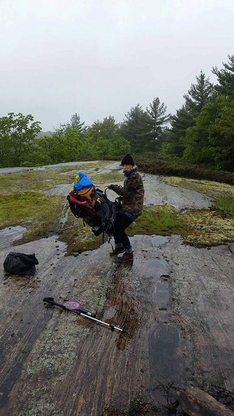 struggle city canadian shield hiker packing camping camp hike outside