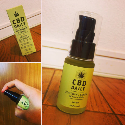 cbd serum hemp oil muscle and joint serum relaxing serum
