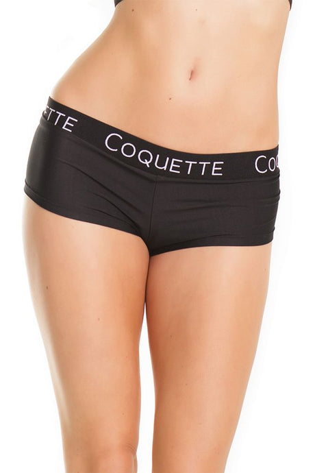 Signature Black Low Rise Booty Short