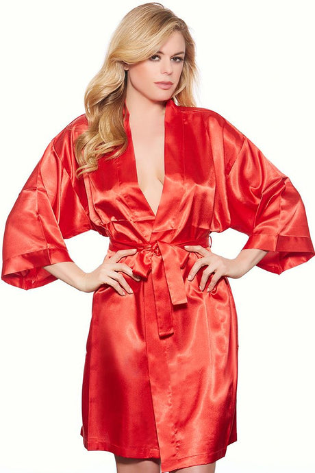 Satin Fever Red Robe
