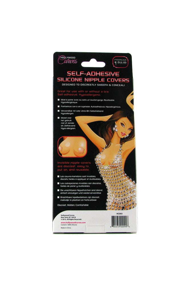 Self Adhesive Silicone Nipple Covers