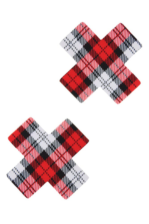 Schoolgirl Plaid Fad Pasties