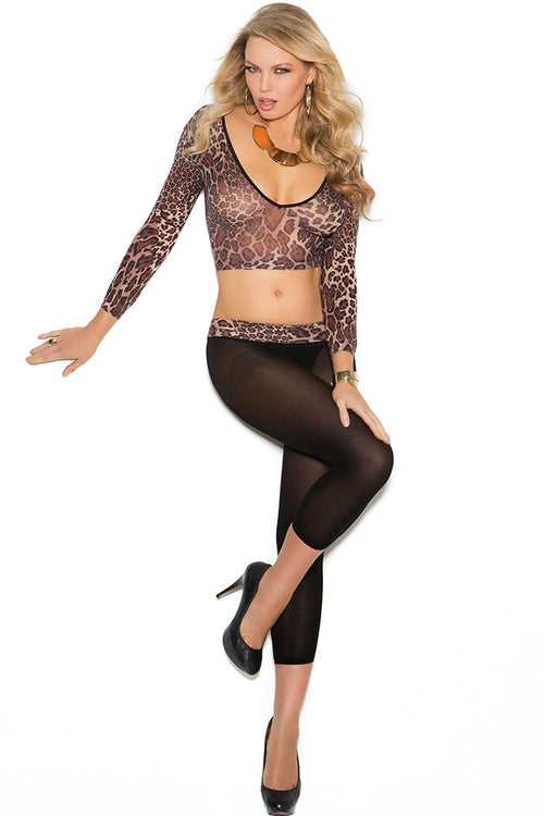 Jungle Cat Opaque Cami and Leggings