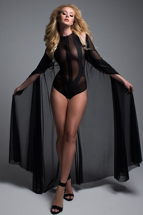 Decadently Divine Sheer Cape
