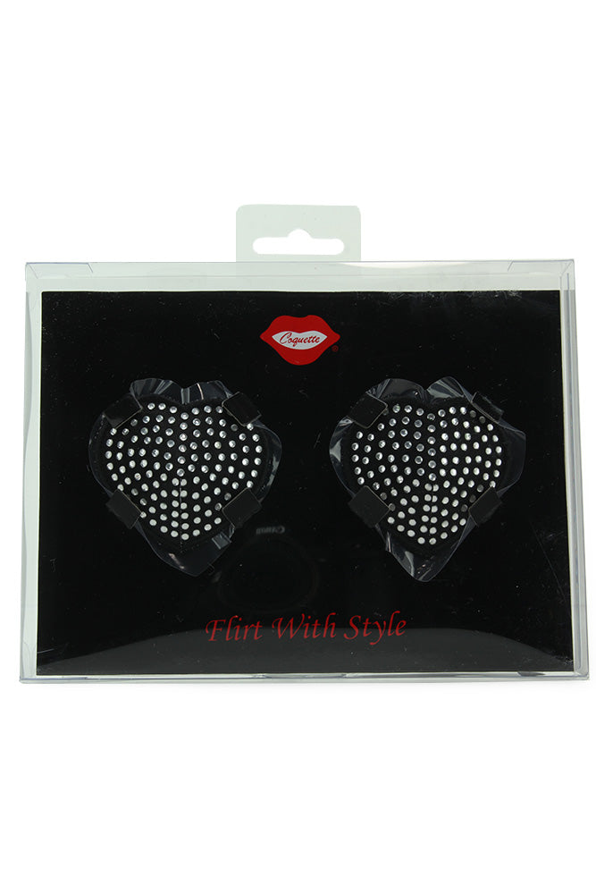 Rhinestone Heart Pasties