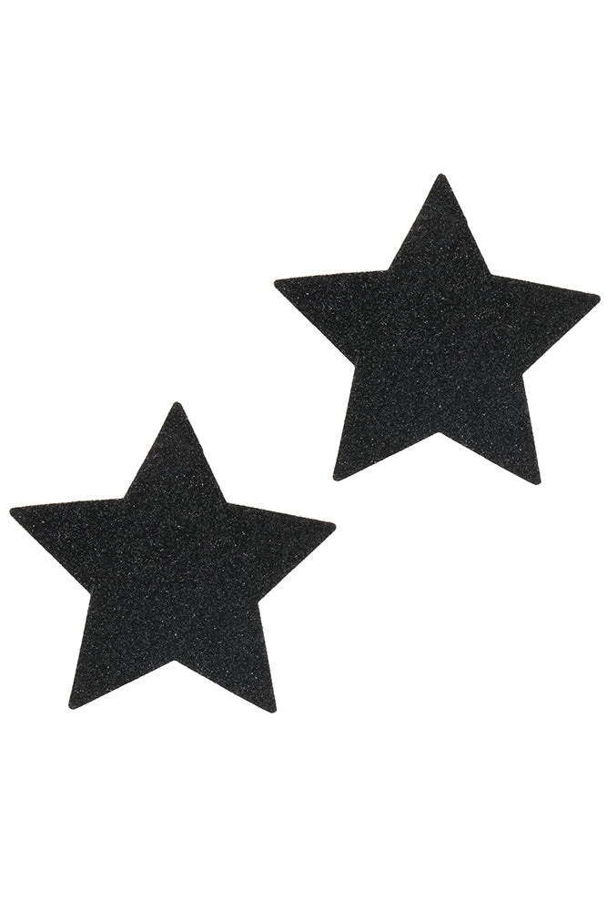 Black Malice Star Pasties