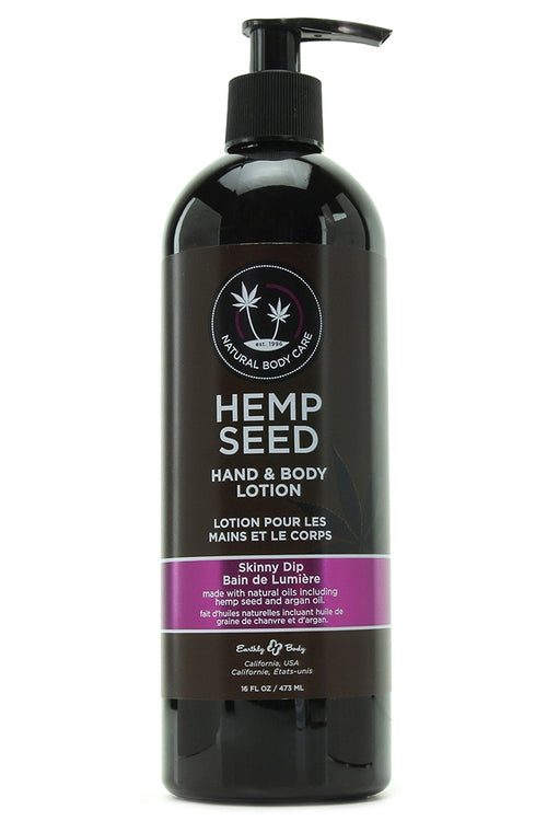 Hemp Seed Hand & Body Lotion 16oz/473mL