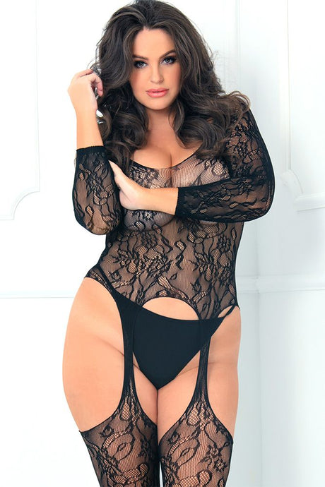 Seductive Crotchless Bodystocking