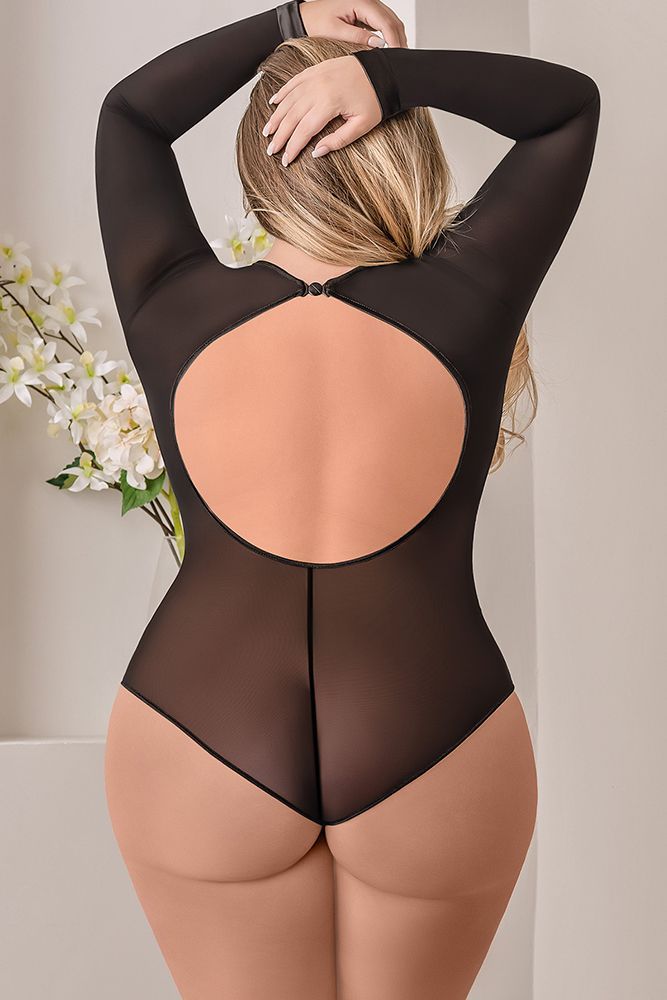 Simply Wicked Long Sleeve Bodysuit