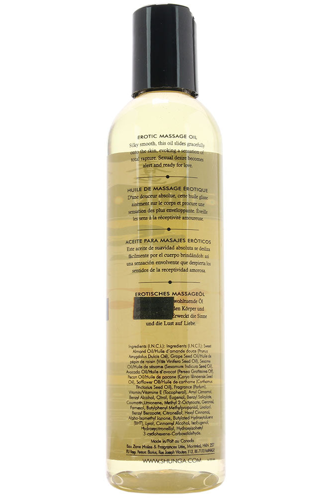 Amour Erotic Massage Oil 8oz/250ml