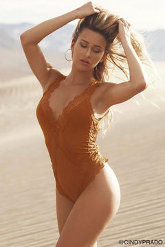 Golden Horizon Sunset Bodysuit