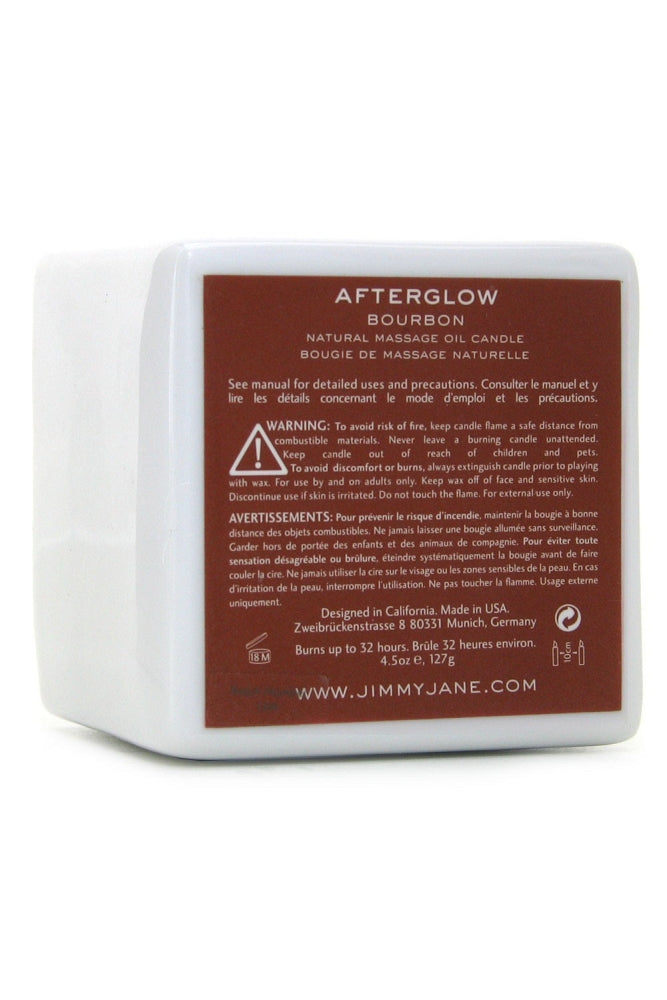 Afterglow Natural Massage Oil Candle