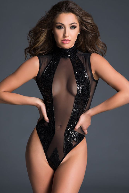 Enchanting Sequins Bodysuit