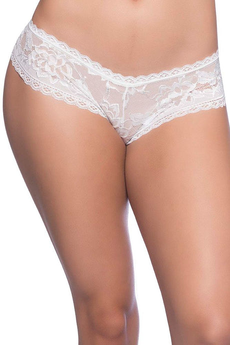 Vanilla Cream Lace Boyshort
