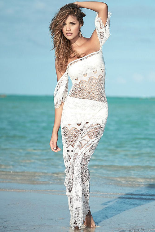 High Tide Maxi Beach Dress