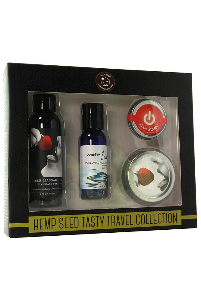 Hemp Seed Tasty Travel Set