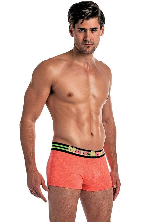Retroactive Orange Mini Short