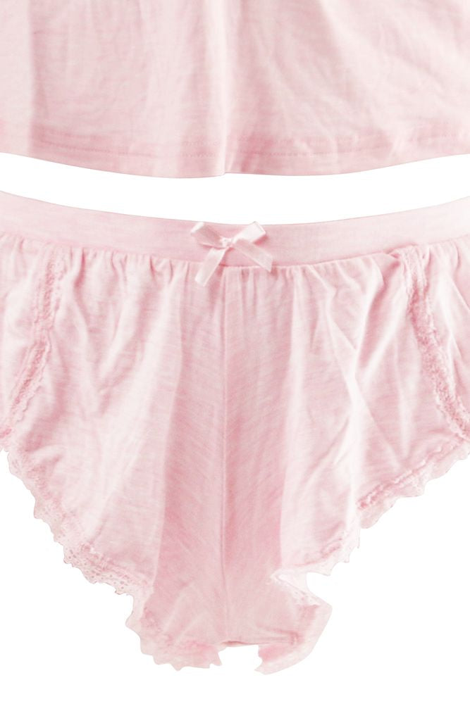 Cotton Candy Jersey Cami & Short Set