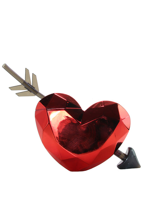 Heart Cup and Straw
