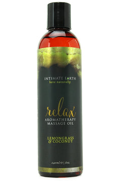 Relax Lemongrass & Coconut Massage Oil