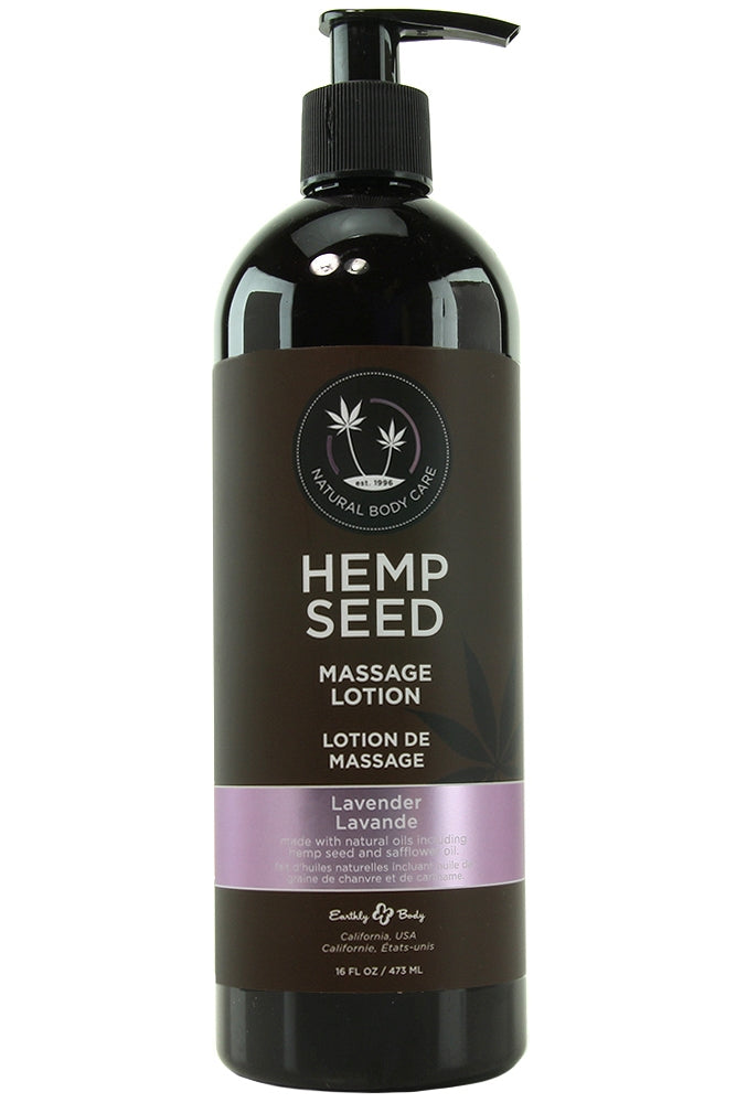 Hemp Seed Massage Lotion 16oz/473ml