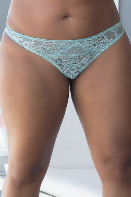 Fresh Frost Lace Thong
