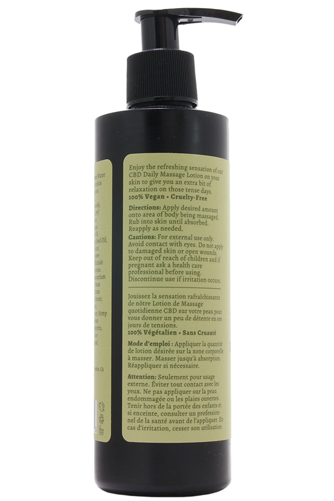 CBD Daily Massage Lotion