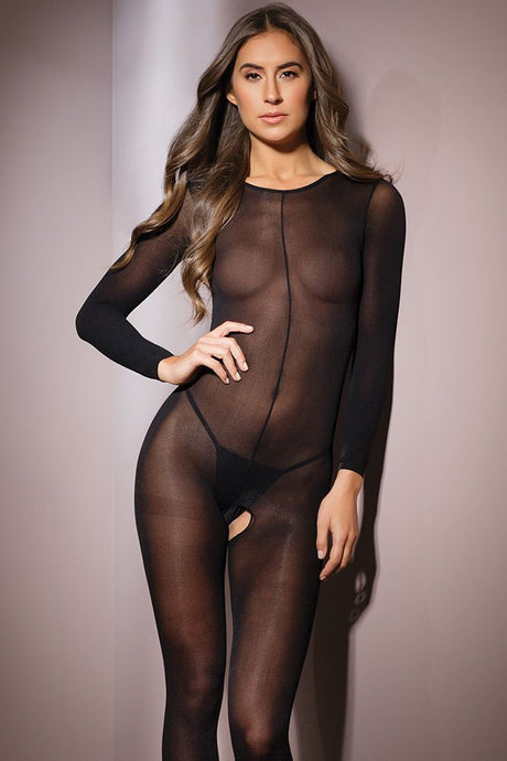 Sheer of the Dark Bodystocking
