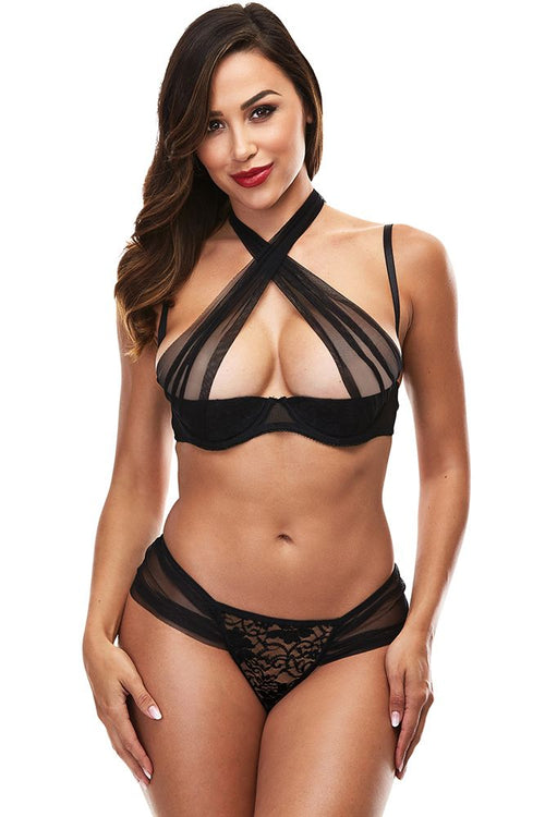 Sheer and Desire Bralette & Panty