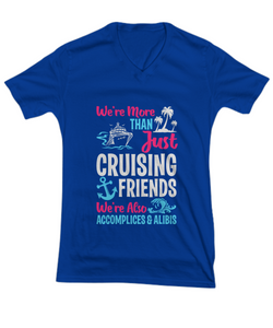 More Than Just Cruising Friends V-neck