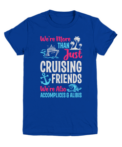More Than Just Cruising Friends Youth Tee