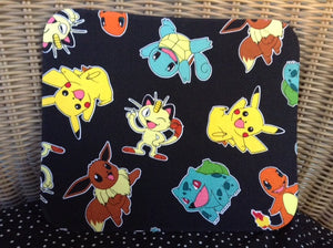Fabric Computer Mousepad Made From Pokemon Characters Fabric