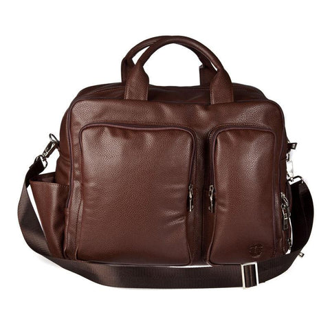 Hero Travel Bag Hayes Series 325brn Better Than Leather HROT325BRN