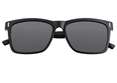 Breed Pictor Polarized Sunglasses - Black/Black