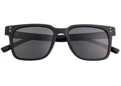 Sixty One Carpi Polarized Sunglasses - Black/Black