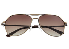 Breed Mount Titanium Polarized Sunglasses - Bronze/Brown