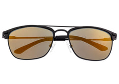 Breed Zodiac Titanium Polarized Sunglasses - Black/Bronze